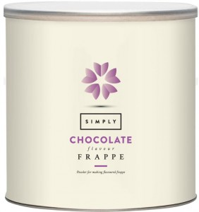 Simply Chocolate Frappe Mix 1.75 KG